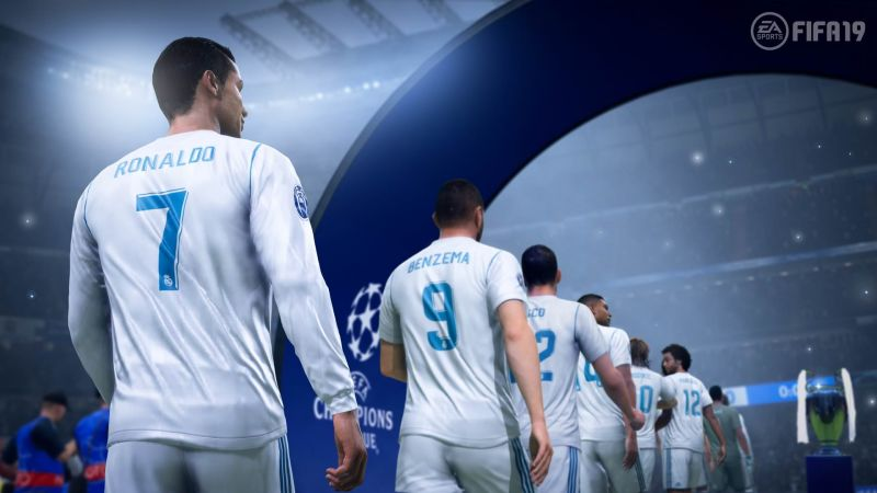 fifa 19 ucl real madrid